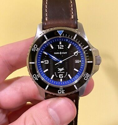 Farr and Swit Seaplane Automatic Watch SW200