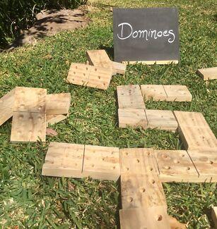 Wedding Hire - Dominoes