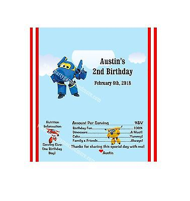 PERSONALIZED SUPER WINGS BIRTHDAY, BABY SHOWER HERSHEY'S CANDY BAR - Personalized Hershey Bar Wrappers