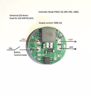 Led Driver Ldr29butpower 2.4a Multi-mode 2.4a 6.5v-27v. Xhp70xml