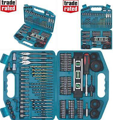 MAKITA ACCESSORY SET 101 PIECE COMPLETE KIT**DRILLS SCREWDRIVER BITS HOLESAWS***