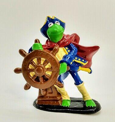 "Henson Applause Muppets Kermit The Frog Treasure Island 3"" PVC Figure RARE"