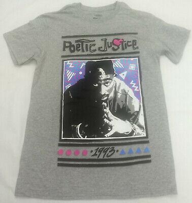 1993 Poetic Justice Tupac Shakur 2Pac Mens T-Shirt Tee New Potrait
