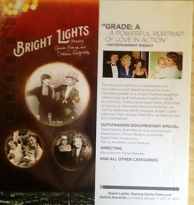 Bright Lights Carrie Fisher/Debbie Reynolds, Music Of Yo-Yo Ma 2017 HBO FYC  DVD