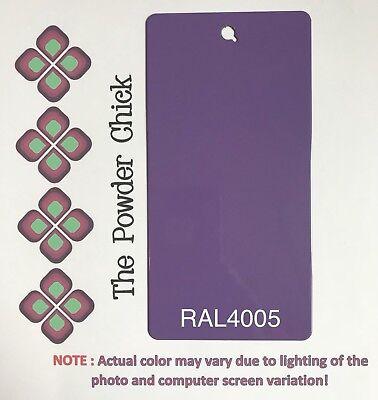 Ral 4005 4942780 Blue Lilac Powder Coating Paint 1lb Bag New