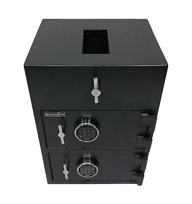 Southeastern Top Loading Cash Drop Box Safe Whigh Security Digital Lock