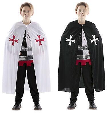 Karneval Kinder Kostüm Umhang Kreuzritter Kreuzzug Ritter - Ritter Kreuzritter Kostüm