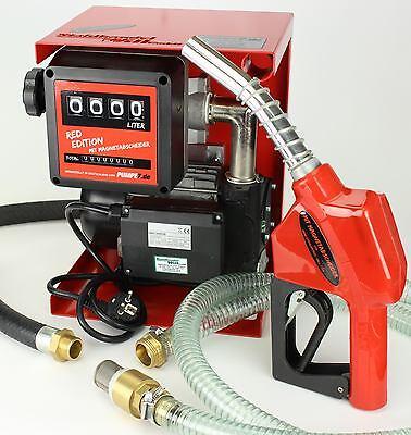 1 Stück  230 Volt Pumpe Dieselpumpe vom Hersteller mit Bypass Ventil Zubehör