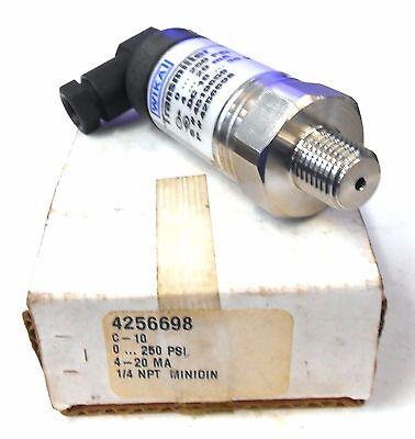 Wika Transmitter 4256698 0-250 Psi 4-20 Ma 10-30 Vdc 14 Npt