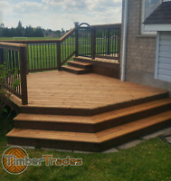 TimberTrades decks and fencing