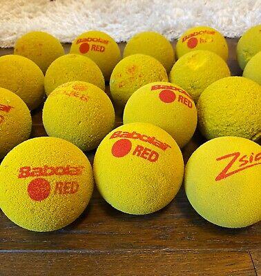 A Dozen(12) foam tennis balls
