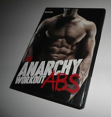 Used, The Anarchy Workout Abs Men's Health Andy Speer (2 DVD Set) Fitness Exercise for sale  Shipping to India