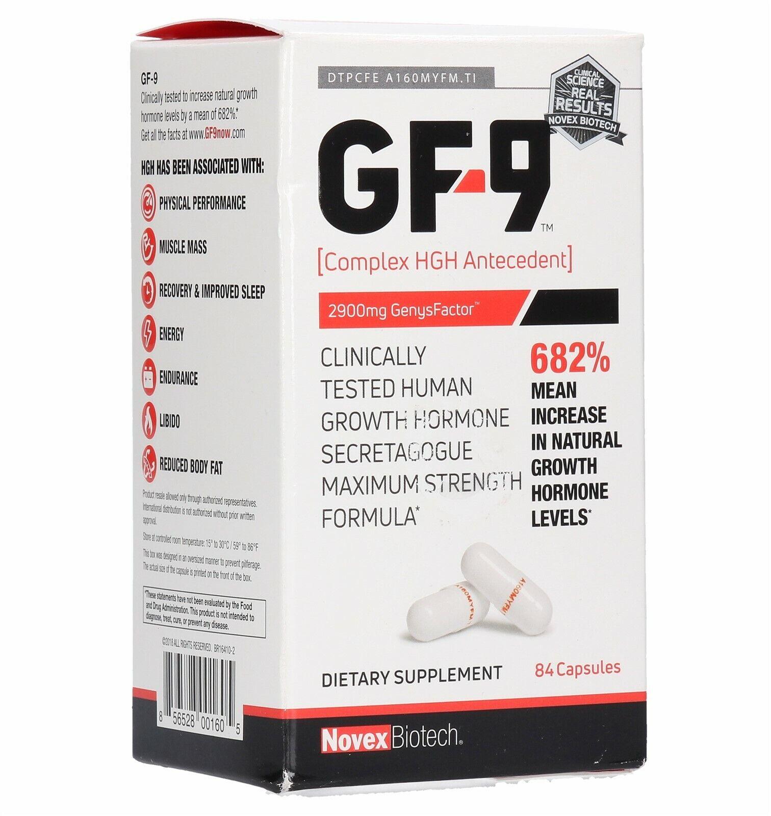 Novex Biotech GF-9, 84 Count