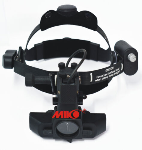 binocular LED Indirect Ophthalmoscope with rechargeable battery MIKO Mi-i700D