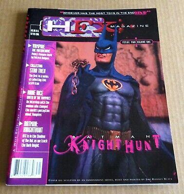 HFX  MAGAZINE VOLUME ONE  / ISSUE TWO  BATMAN KNIGHT HUNT 1997 VFN / NM