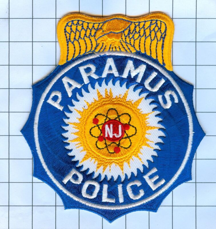 Police Patch  - New Jersey - Paramus
