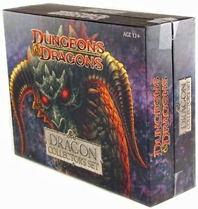 Dungeons & Dragons Dragon Collector's Set NEW SEALED