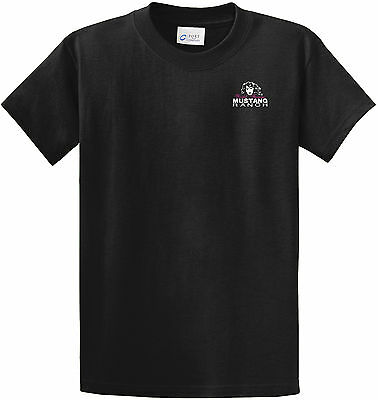 Men's Mustang Ranch T-Shirt 50% Cotton 50% Polyester