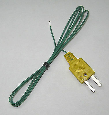 T Type Thermocouple Wire F. Digital Thermometer Temperature Sensor Probe Tt1 1p