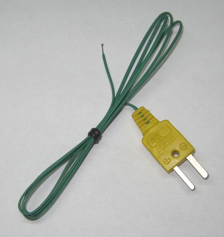 T Type Thermocouple Wire f. Digital Thermometer Temperature Sensor Probe TT1 1p