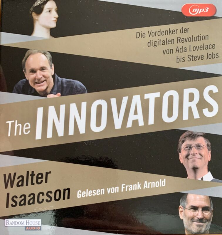 Hörbuch - The Innovators von Walter Isaacson