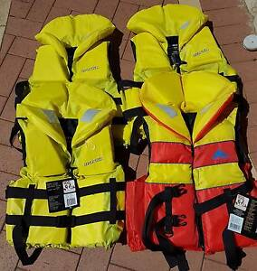 LIFE JACKETS X 4 BRAND NEW VOYAGER MK2  XL-3XL $50 EACH Kinross Joondalup Area Preview