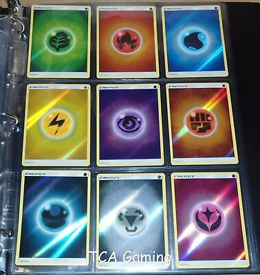 SM Shining Legends Complete REVERSE HOLO 69 Card Set NEAR MINT Pokemon Cards