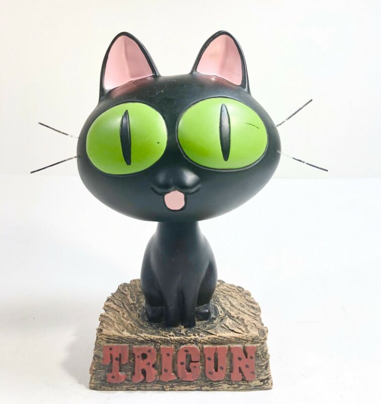 Trigun Kuroneko-Sama Cat Bobble Head Figure 1998