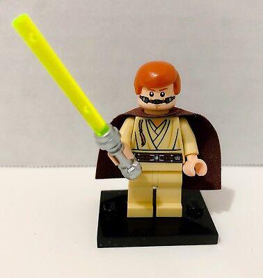 Lego Star Wars Padawan Obi Wan Kenobi Minifigure Re-Breather 9499