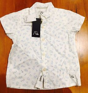 Quiksilver Toddler Shirt - Size 2 New With Tags Aspendale Gardens Kingston Area Preview