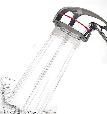 Patent High Pressure Bathroom Shower Head Showerhead filter Water saving Bubble