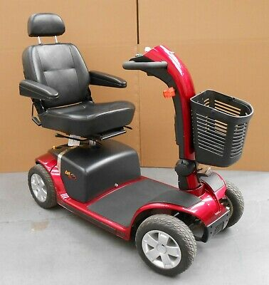 Pride Colt Deluxe 6mph Red Mobility Scooter