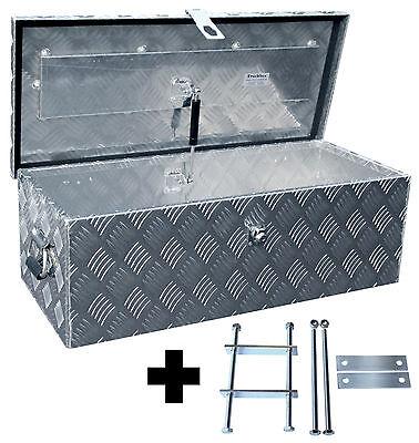 Truckbox D055 inkl. Montagesatz MON2012, Deichselbox, Deichselkasten, Alukasten