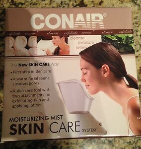 Conair Moisturizing Mist skin care system, New in box