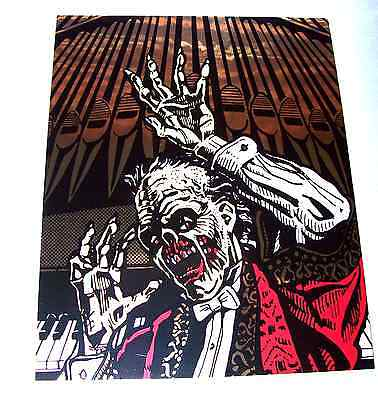 Data East PHANTOM OF THE OPERA Original NOS Pinball Machine Organ Decal 1990