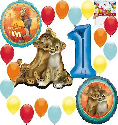 Disney The Lion King 1st Birthday Party Supplies Balloon Decoration -