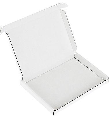 50 WHITE C5 A5 PIP BOX SHIPPING MAIL POSTAL LARGE LETTER SIZE: 23cm x 16cm x 2cm