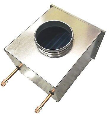 Lufterhitzer Heizregister Wärmetauscher Luftheizung  DN 160 1/2 Zoll Anschluß  - Luft-wärmetauscher