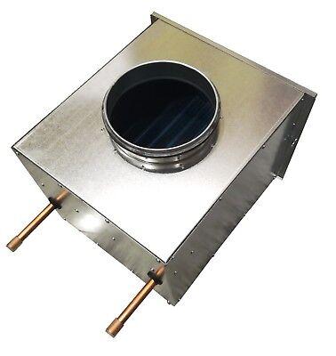 Lufterhitzer Heizregister Wärmetauscher Luftheizung Hallenheizung DN 125  - Luft-wärmetauscher