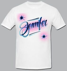 Custom airbrushed t shirt any size and colors made to order for Custom made airbrushed shirts