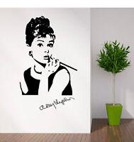 Audrey Hepburn Retrato Vinilo De Pared Habitación Adhesivo Pegatina -  - ebay.es