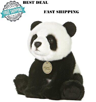 Teddy Bear Panda White Soft Plush Toy Cuddly Cute Stuffed Fluffy Animal Kids New