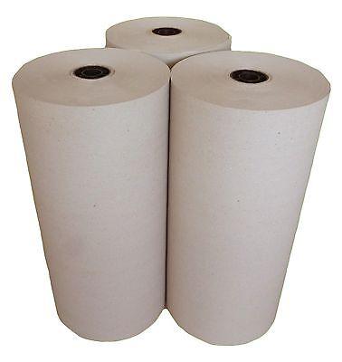 3 x 10 kg Rollen Schrenzpapier Packpapier 120g/m² 50 cm breit x167 m