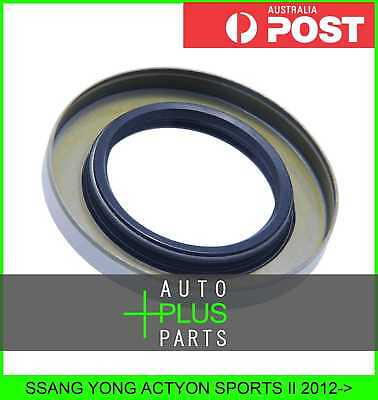 Fits SSANG YONG ACTYON SPORTS II Oil Seal Rear Hub 38X63.5X8