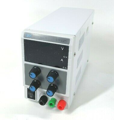 Sky Toppower Stp3005 Adjustable Dc Bench Power Supply For Parts Or Repair