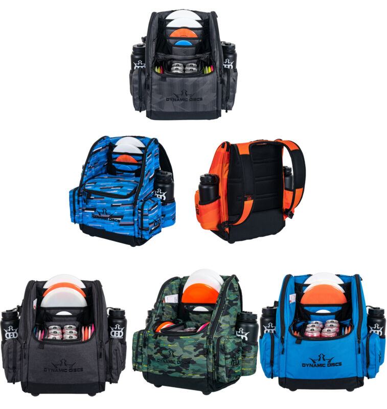 Dynamic Disc Golf Backpack Bag - Commander Cooler - Holds 18+ Discs and a 6-Pack