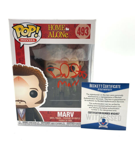 DANIEL STERN SIGNED AUTOGRAPH HOME ALONE FUNKO POP MARV BECKETT BAS 132