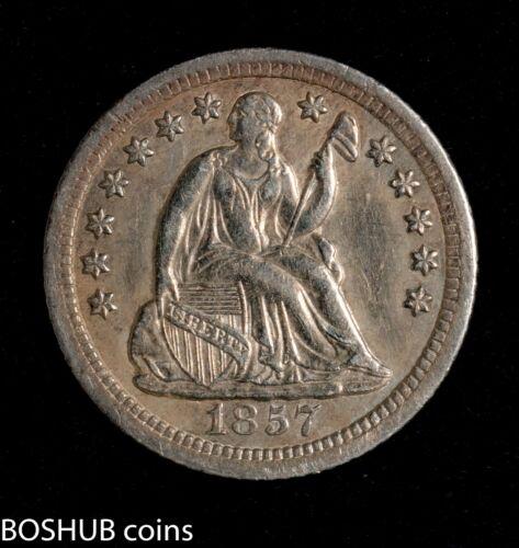 1857 O Seated Liberty Half Dime 1/2dime BU gem