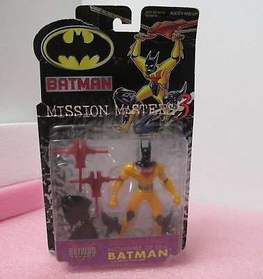 Hasbro Batman Mission Masters 3 5055GC Highwire Zip Line w/ Sliding Cable Gear