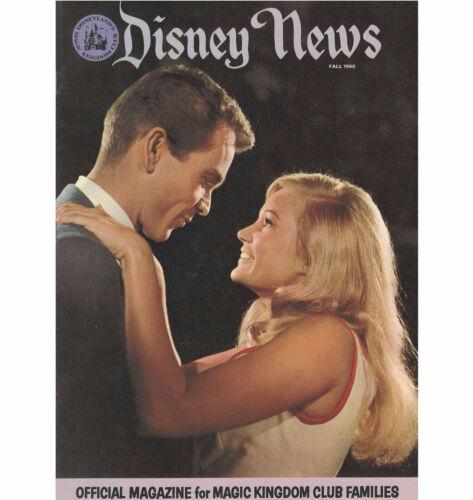 Disney News Magic Kingdom Magazine Fall 1966 Disneyland 17 pages 4th Issue